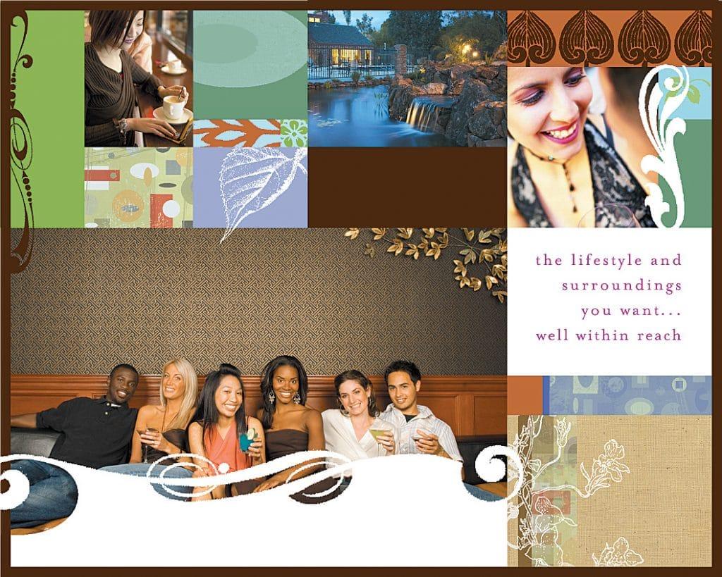 real estate brochure, real estate logo design, real estate business cards, real estate billboards, email campaigns, direct mail, web site design, apartment brochure, condominium brochure